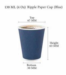 GUJARAT SHOPEE Plain Disposable Paper Cup, For Restaurant