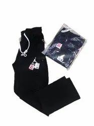 Black Sports Wear Boys Lower, Size: XL