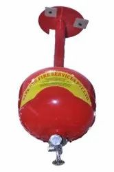 Safe Pro Carbon Steel Automatic Modular Fire Extinguisher, For Industrial, Capacity: 2Kg