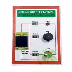 Melody's Solar Green Multiple Energy Solar Conversion Kit. Science Project For School
