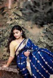 Present Kota Silk Saree Beautiful Rich Pallu & Jacquard Work