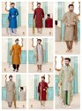 Festive Wear Mens Vol 2 Designer Kurta Payjama Mens Wear Catalog Collection