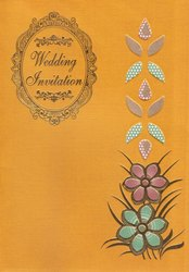 Board Wedding Invitation ( Model No. P 2907)