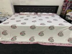 Indian Home Furnishing Cotton Double Bed Sheets