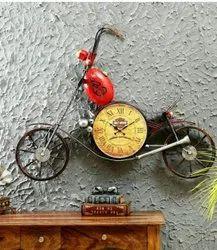 Bike With Watch Wall Art