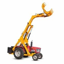 Single Boom Grabber Loader