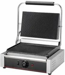 Stainless Steel Ss Sandwich Griller, For Commercial