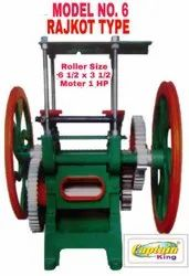 Sugarcane Crusher Machine Rajkot Type Model No. 6