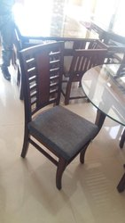 Brown Wooden Restaurant Chair