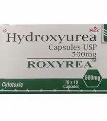 Bruck 500 MG Hydroxyurea Capsule, 10x10 Capsules, Prescription