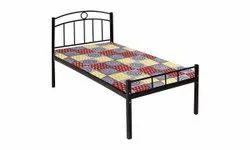 Metal Single Cot Bed, Size: 6x2.5 Feet