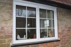 White Residential UPVC Windows, For Home