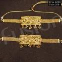 Fusion Arts Traditional Matt Polish Choker Necklace Set