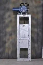 Motorized Slide Gate Guillotine Damper