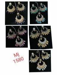 Party Wear Kundan Earring