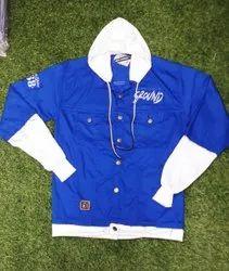 Men Cotton Hooded Designer Jacket