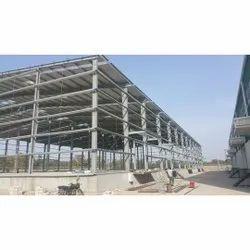 Steel Pre Fabricated Industrial Structure Shed