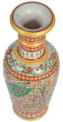 Multicolor Marble Handicrafts Flowers Pots