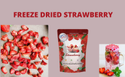 Freeze Dried Tea Cut Strawberry