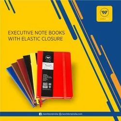 PU Journal with Elastic Closure A6 size