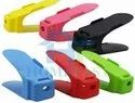Plastic Adjustable Shoe Slots Organizer - Plastic Adjustable Shoe Slots