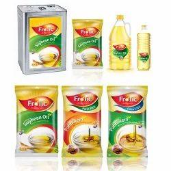 Frolic Edible Oil Packaging Design