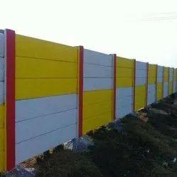 Color Coated Precast Boundary Wall