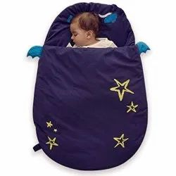 Cotton Blue Baby Carry Bed