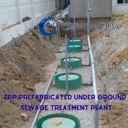 Frp Underground Sewage Treatment Plant