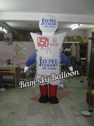 Walking Inflatables for jp cement