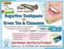 Sugarfree Toothpaste