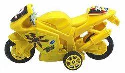 Yellow Plastic Bike Toy