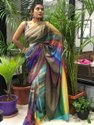 Present Preimium Fabric With Spanish Dijital Printed Good Lookign Saree