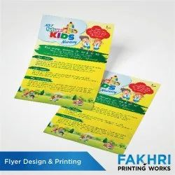 Flyer Design & Printing Service, in Local