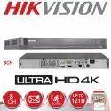 4 Channel Hikvision DVR System