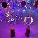 Plastic(bottle Cork) Led Bottle Cork Light, For Decoration, Lighting Color: Warm White