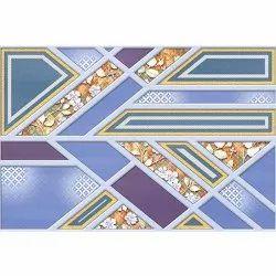 Blue Designe Wall Tiles, Size: 450 x 300 mm