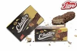 Cluster Crispy Chocolate Wafer