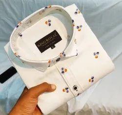 Mens Formal Printed Shirt