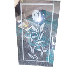 Digital Printed Glass, Size: 6 X 8 Feet