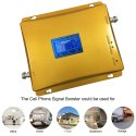 Dual Band 2G 4G LTE Network Range Enhancer Amplifier 12dbm 1500 Sq. Feet - Full Kit