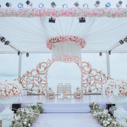 Wedding Stage Decoration Service, Local