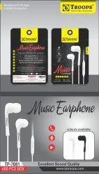 TP Troops Music Earphone Pouch 7081  (Box-400)  Earphone