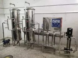 Automatic RO Plant SS 316 2000 LPH