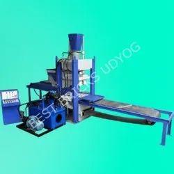 6 Cavity Semi Automatic Fly Ash Bricks Making Machine
