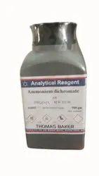Analytical Reagent Ammonium Dichromate, Packaging Size: 500 G, Liquid