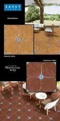 Moroccan Wall And Floor Tiles