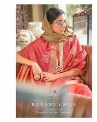 Rajtex Kananta Banarasi Silk Party Wear Printed Saree Catalog