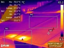Thermography Services of Solar Panel