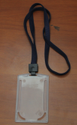 MP11 Transparent PVC Card Holder